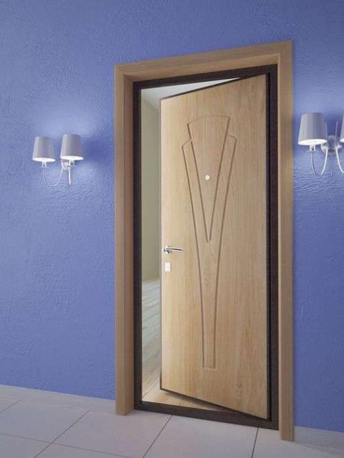 внутренняя входная дверь в квартире